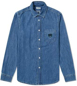 Kenzo Tiger Pocket Denim Shirt