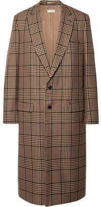 Dries Van Noten Houndstooth Wool-Blend Coat