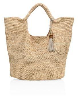 HEIDI KLEIN Raffia Bucket Bag $330 thestylecure.com