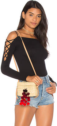 Free People Cross Shoulders Layering Top