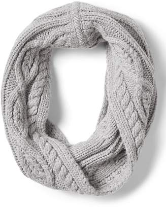 Banana Republic Chunky Cable-Knit Snood Scarf