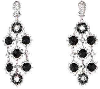 Judith Ripka 18K Diamond & Spinel Bahama Mama Earrings