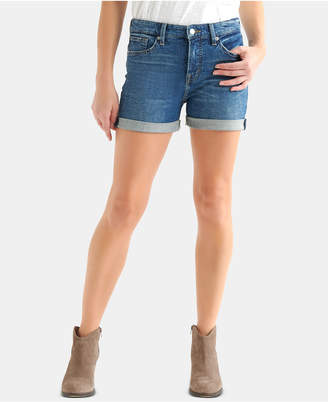Lucky Brand Ava Cuffed Denim Shorts