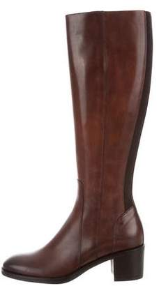 Santoni Leather First Lady Boots w/ Tags