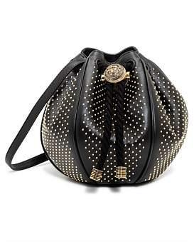 Balmain Mini B-Bucket Bag With Micro Studs