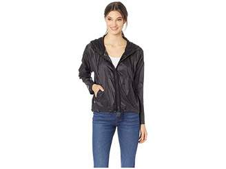 Juicy Couture Hard Woven Gothic Juicy Packable Nylon Jacket Women's Coat