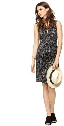 A Pea in the Pod Collective Concepts Sleeveless Wrap Maternity Dress