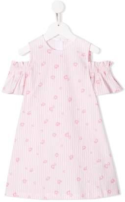 Il Gufo floral-print dress