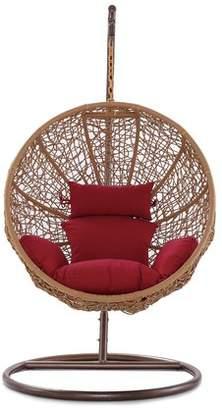 Mistana Eliott Swing Chair with Stand Cushion