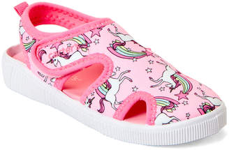 Carter's Toddler Girls) Pink Troy Unicorn Water Shoes