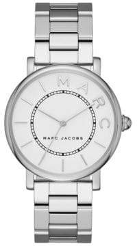 Marc Jacobs Analog Classic Stainless Steel Bracelet Watch