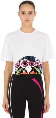 NO KA 'OI No Ka'oi Presence/2 Embroidered Cropped T-Shirt