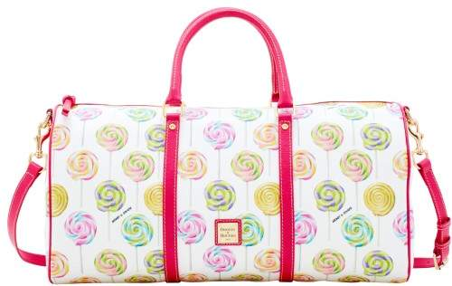 Dooney & Bourke Swirl Lollipop Gym Duffle - WHITE - STYLE