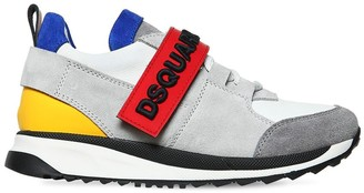 DSQUARED2 Leather & Suede Sneakers