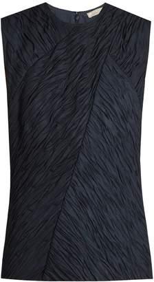 Nina Ricci Crinkle-effect sleeveless top