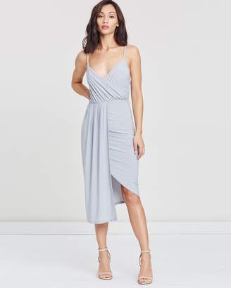 Missguided Slinky Strappy Midi Dress