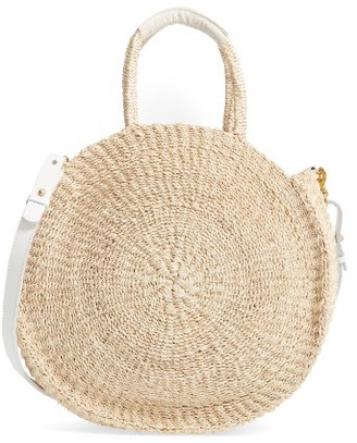 Clare V. Alice Sisal Tote - Beige $225 thestylecure.com