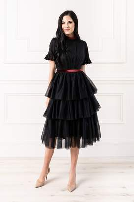 Rachel Parcell Tiered Tulle Dress