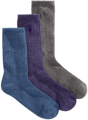 Polo Ralph Lauren Women 3-Pk. Sport Crew Socks
