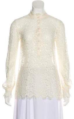 Rachel Zoe Long Sleeve Lace Blouse