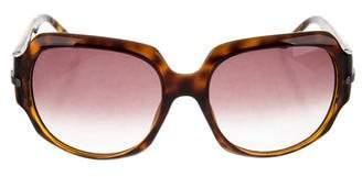 Christian Dior Embellished Oversize Sunglasses