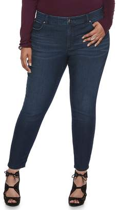 JLO by Jennifer Lopez Plus Size Ankle Skinny Jeans