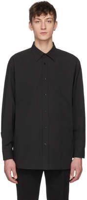 Raf Simons Black Oversized Joy Division Atmosphere Shirt