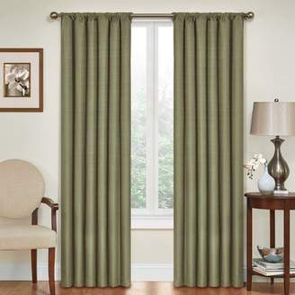 Columbia Charlton Home Solid Blackout Thermal Rod Pocket Single Curtain Panel