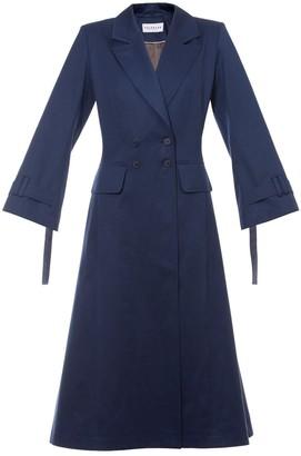 Talented A Line Coat Blue