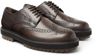 Tod's Leather Wingtip Brogues