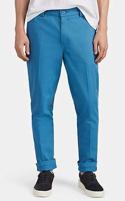 Dickies CONSTRUCT Men's Logo Cotton Slim Trousers - Lt. Blue