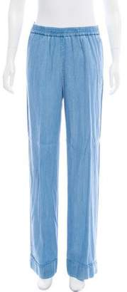 Michael Kors High-Rise Wide-Leg Pants w/ Tags