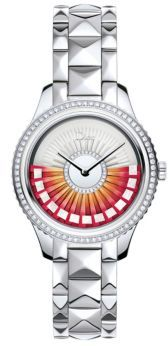 Christian Dior  Dior Dior VIII Grand Bal Limited-Edition Diamond & Stainless Steel Bracelet Watch