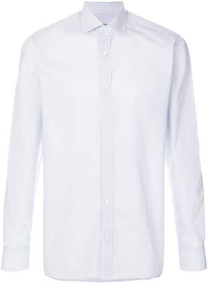 Z Zegna pattern print shirt