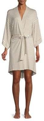 MAISON DU SOIR Florence Stripe Robe