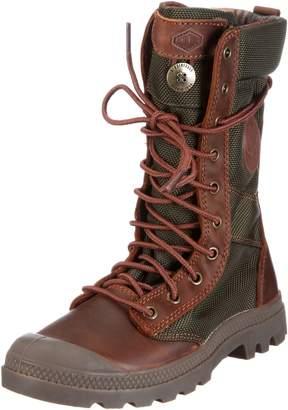 Palladium Women's Pampa Tactical Boot,Brown/Olive Drab