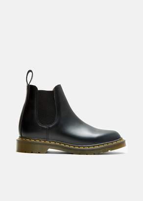 Comme des Garcons Dr. Martens Smooth Leather Boots Black
