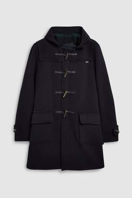 Next Mens Navy Gloverall Duffle Coat