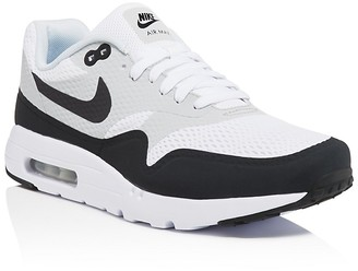 Nike Men's Air Max 1 Ultra Essential Lace Up Sneakers $120 thestylecure.com