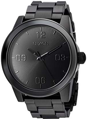 Nixon Women's 'G.I. SS' Quartz Metal and Stainless Steel Watch