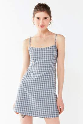 Urban Outfitters Emma Plaid Mini Dress