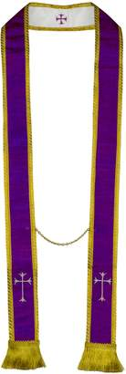 MDS- Visitation/Confessional Stole- Pure Silk