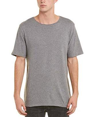 Vince Men's Raw Edge Cotton Short Sleeve Tee