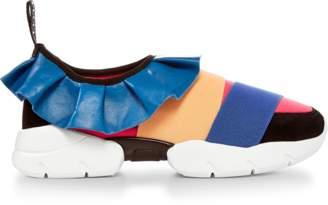 Emilio Pucci Ruffle Sneaker