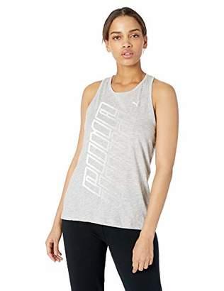 Puma Women's Twist It Logo Tank Shirt,L