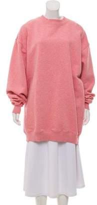 Acne Studios Crew Neck Ribbed Sweatshirt