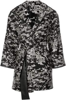 Natori pagoda embroidered topper jacket