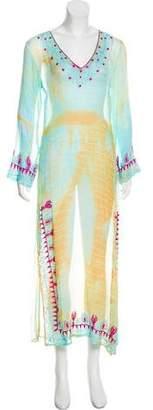Letarte Silk Maxi Dress