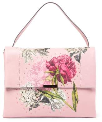Ted Baker Peonii Palace Gardens Leather Shoulder Bag