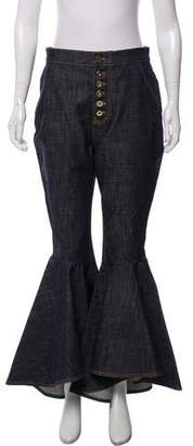 Ellery High-Rise Hysteria Wide-Leg Jeans w/ Tags